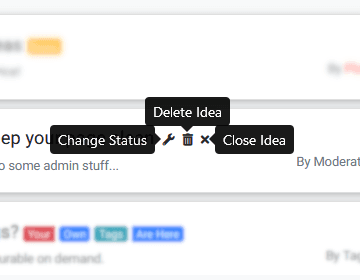 Moderating tools image